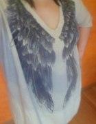 swetr sweterek z skrzydłami...