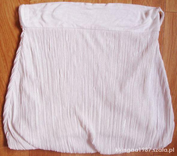 Spódnice WYPRZEDAŻ biala mini unikatowa sexy sliczna