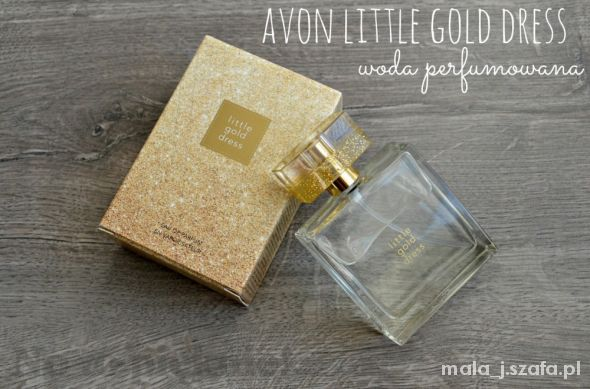 Woda Perfumowana LITTLE GOLD DRESS NOWA 50ml
