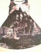 Black milk haunted house dress