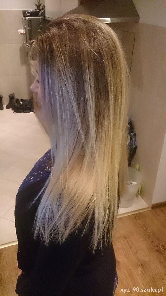 Fryzury Sombre czy ombre w wersji blond