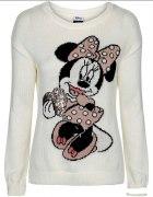 Nowy sweter z Myszka Minnie...