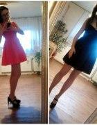 Pink dress & black dress