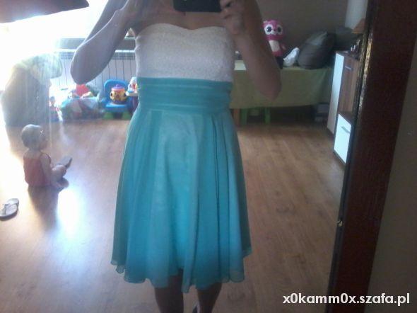 Suknie i sukienki sliczna sukienka S tanio