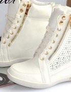Sneakersy lepsze niż ALA ZANOTTI na koturnie 37