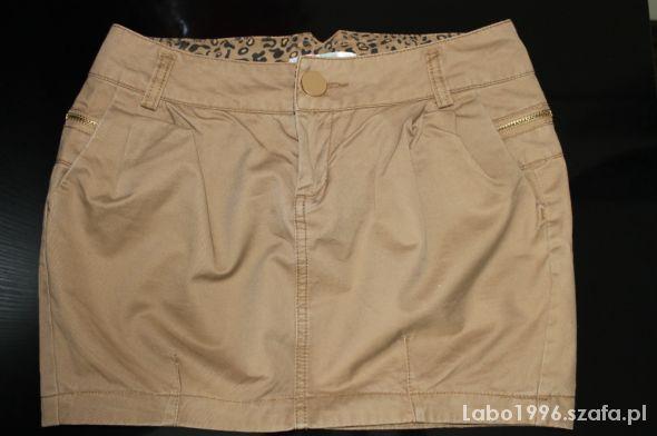 Spódnice Spódnica brązowa Cropp