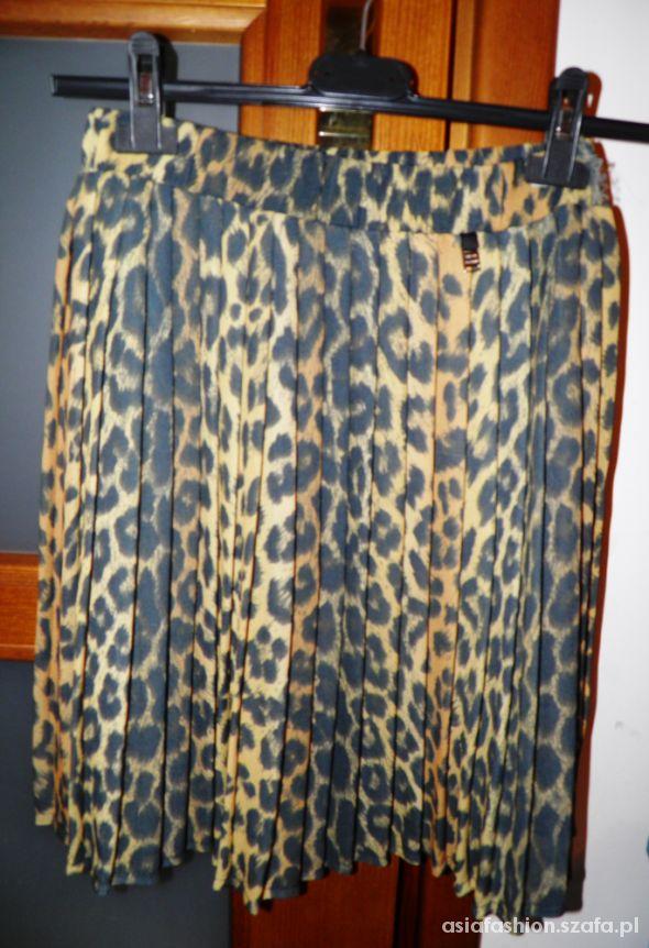 Spódnice spódnica plisowana cętki panterka river island 34
