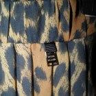 spódnica plisowana cętki panterka river island 34