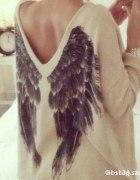 Sweterek Skrzydła
