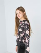 Bluza Bershka kwiaty
