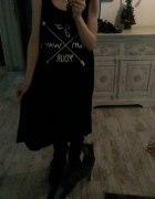 Rohho boho hippie rock dress sukienka...
