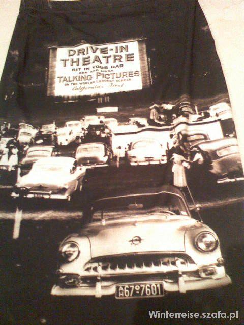 Spódnice Spódniczka Rohho ołówkowa kino samochodowe print