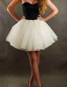 Sukienka Balerina tiul cekiny tiulowa z koła
