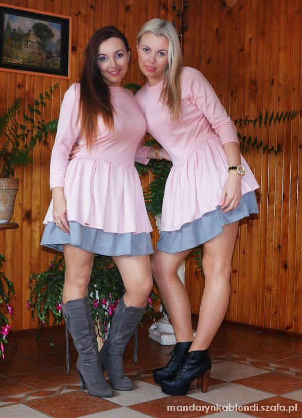 Blogerek Sukienka falbanki