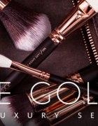 ach te pędzle Zoeva Rose Golden Luxury Set...