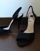 czarne sandałki szpileczki