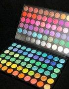 nowa paleta cieni 120 pięknych kolorów w etui
