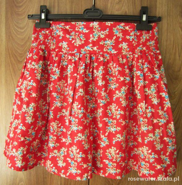 Spódnice Spódnica w kwiatki folk
