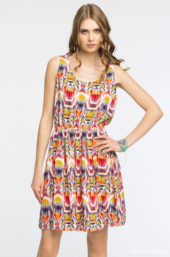 Kolorowa sukienka Medicine...
