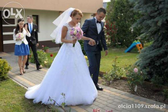 ff0c38a311 Suknia Ślubna SPOSABELLA 1405 biała w Suknie ślubne - Szafa.pl