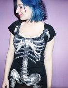 Sukienka szkieletowa Kreepsville666