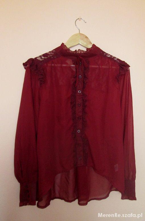 Koszule Mgiełka z koronką