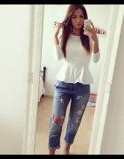 baskinka i jeansy