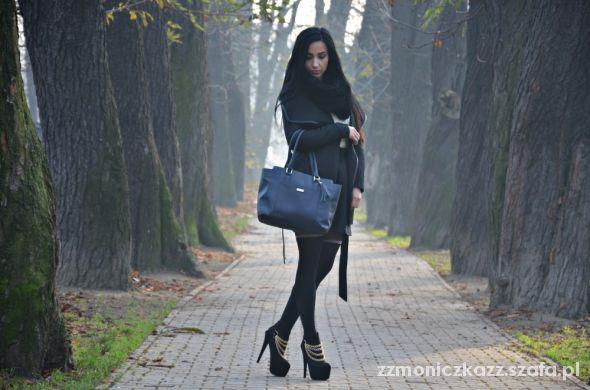 Blogerek black elegant set