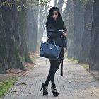 black elegant set