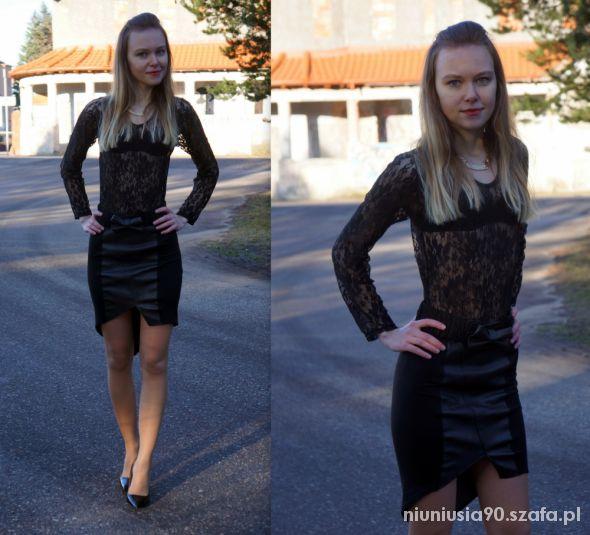Imprezowe Total black look