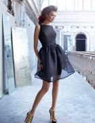 Sukienka rozkloszowana tiulowa
