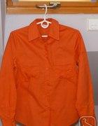 Okazja Tanio ładna bluzka modny pomarańcz 3638