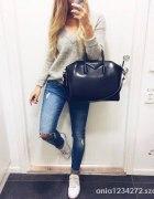 spodnie jeans przetarcia ciecie