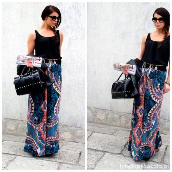 Ubrania Spódnica maxi we wzory lub sukienka