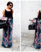 Spódnica maxi we wzory lub sukienka