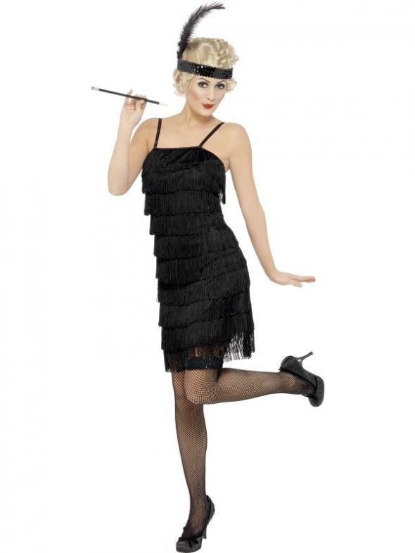 Kostium FLAPPER lub sukienka frędzle