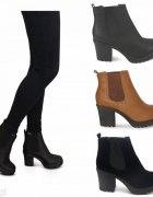 Botki chunky boots 38