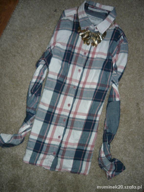 koszula w krate łaty xs