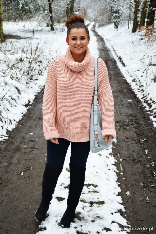 Blogerek oversize knitwear