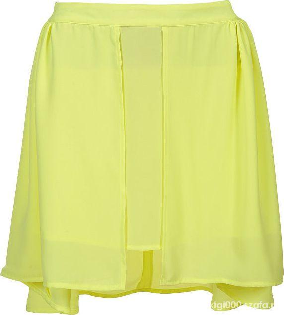 spódnica limonkowa top secret troll...
