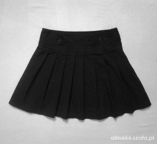 Spódnice Czarna rozkloszowana spódniczka mini firmy George