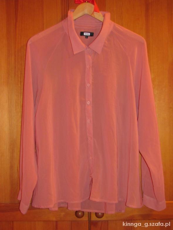 BIK BOK zwiewna koszula pudrowy róż L