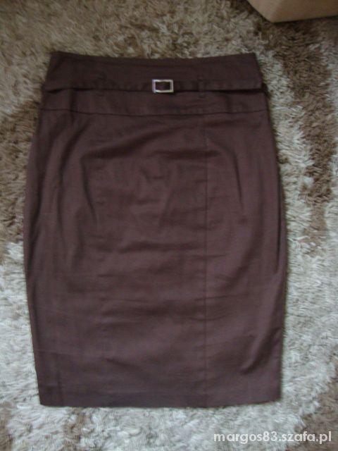 Spódnice Brązowa ołówkowa spódnica F&F