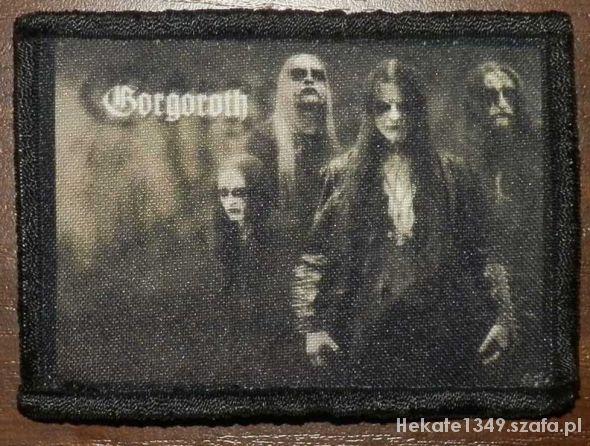 Pozostałe Gorgoroth naszywka Black Metal