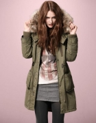 Parka Fishbone New Yorker...