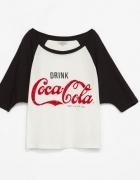 bluzka zara trf coca cola