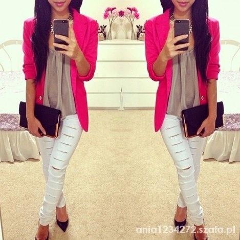 Eleganckie kolorowa elegancja