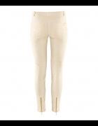 żakardowe koronkowe spodnie hm 36 S...
