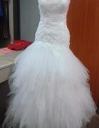 piórkowahiszpanka suknia ślubna