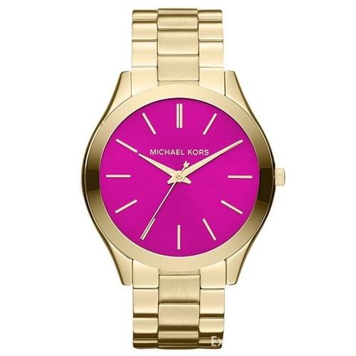 Zegarek Michael Kors różowa tarcza